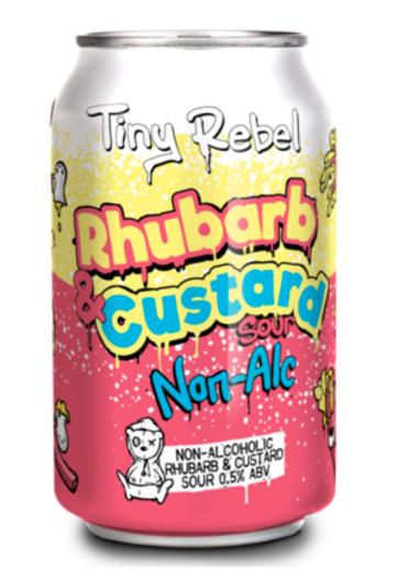 Tiny Rebel: Rhubarb & Custard 0.5% 330ml