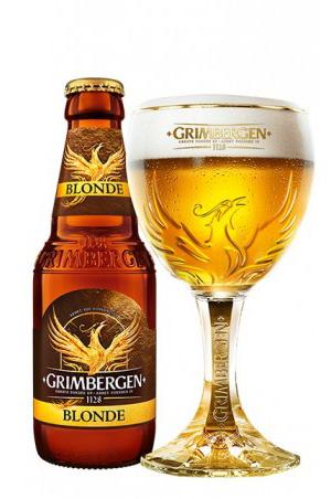 Grimbergen (Blonde) 6.7% 330ml Returnable Bottle