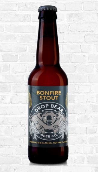 Drop Bear: Bonfire Stout 0.5% 330ml