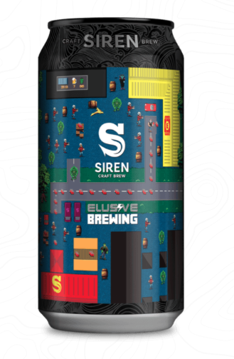 Siren Craft Brew/Elusive: Zombies Ate My Neighbours 6.2% 440ml