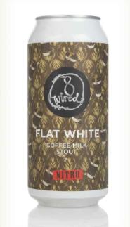 8 Wired: Flat White 5.3% 440ml