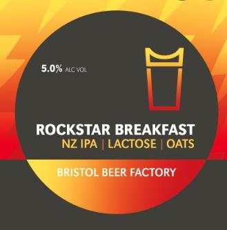 Keg: Bristol Beer Factory: Rockstar Breakfast 5% Per Pint