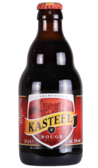 Kasteel Rouge (Kriek/Cherry) 8% 330ml Returnable Bottle