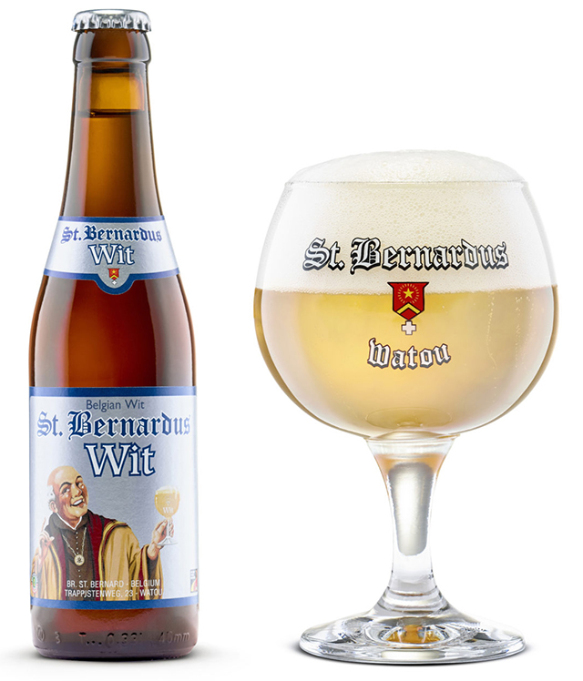 St Bernardus Wit (Abbey Wheat beer) 5.5% 330ml Returnable Bottle