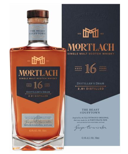 Mortlach: 16 year old single malt 43.5% 25ml