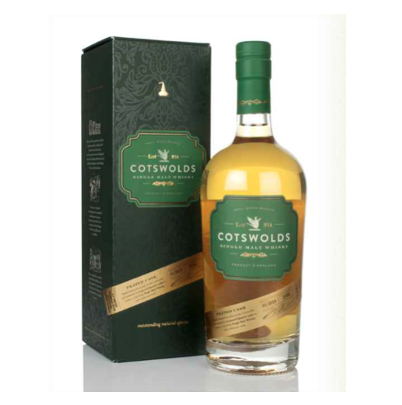 Cotswold Distillery: Peated Cask Strength 60.2% 25ml